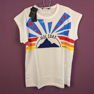 Dolce & Gabbana White Color HOLIDAY Tee